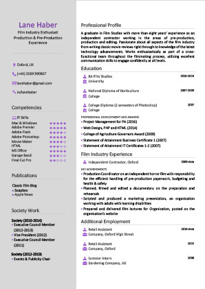 James Innes Group - The CV Centre - South Africa (ZA) - CV Resume Example 3